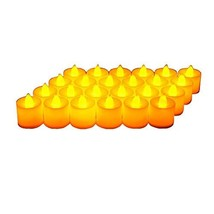 Midafon 24 Pcs Flameless Votive Candles Battery Operated Lasts Over 100 ... - $11.49