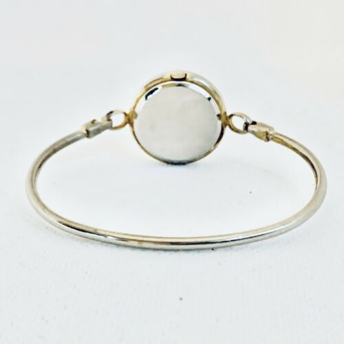 Vintage La Marque Gold Tone Bangle Bracelet Women's 24mm Watch image 3