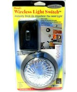 Wireless Light Switch by Handy Trends stick anywhere you need light! - $0.99