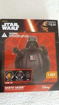 NIB NEW DISNEY STAR WARS DARTH VADER HALLOWEEN PUMPKIN DECORATING KIT, C... - $6.92