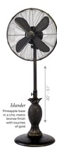 "DecoBreeze 18"" Islander Metro Bronze  - 3 Speed, Oscillating Outdoor Fan - $299.00"
