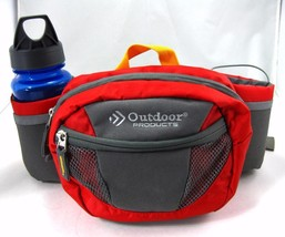 Fanny Pack Hiking Camping Outdoor Products 2 Bottle Holders w Free Bottl... - $9.45