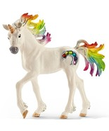 # Rainbow Unicorn Foal by Schleich 70525 Stunning Bayala strong tough <> - $12.13
