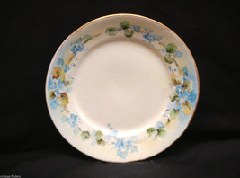 """Old Vintage 6-1/2"""" Bread & Butter Plate by Homer Laughlin Yellow & Blue Flowers - $9.89"""