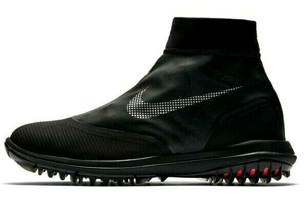 NIKE LUNAR VAPORSTORM BOA WATERPROOF GOLF BLACK SIZE 11 WIDE NEW (918622-001)  image 2