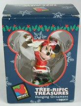 Mickey Unlimited Tree-Rific Treasures Minnie North Pole Ornament Disney ... - $11.81