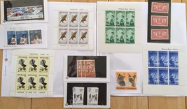 G03 New Zealand Stamps 1936 1941  Souvenir Sheets Boy Girl Scouts Birds ... - $11.63