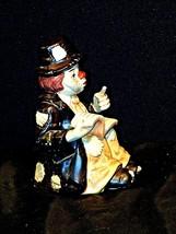 Emmett Kelly Clown Music Box Vintage Sun Saint image 2