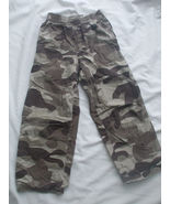 Cherokee Camouflage Pants Size 6X Cotton Blend  - $12.86