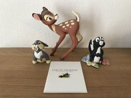 Extremely Rare! Walt Disney Bambi Leblon-Delienne LE of 2000 Figurine St... - $643.50