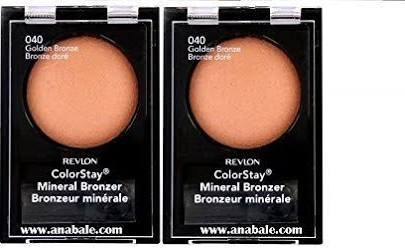 Primary image for (2 Pack) Revlon ColorStay Mineral Bronzer, 040 Golden Bronze, 0.04 Ounces
