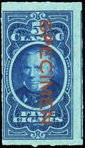 C63S, Cigar Tax Paid Specimen Stamp - Hard to Find! - Stuart Katz - $40.00
