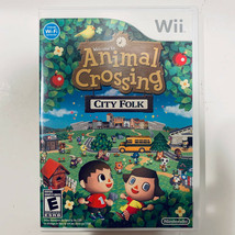 Animal Crossing: City Folk (Nintendo Wii, 2008) Complete. Tested/Works. - $21.99