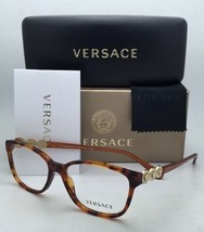 New VERSACE Eyeglasses VE 3181-B 5074 55-15 140 Honey Tortoise Frame w/ ... - $149.99