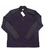 NWT Calvin Klein Liquid Cotton Active Top Men's Size Medium Black 100% C... - $44.54