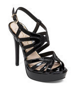 Women Jessica Simpson Belamy Dress Sandals, Sizes 6-11 Black Patent JS-B... - £60.59 GBP