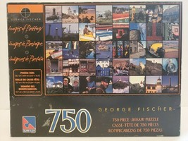 """George Fischer """"Images of Brittany"""" 750 Piece Sure-Lox Jigsaw Puzzle - $23.36"""