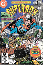 The New Adventures of Superboy Comic Book #39 DC Comics 1983 NEAR MINT - $3.25
