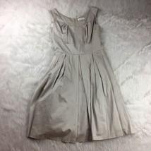 Women's Calvin Klein Tan Beige Career Secretary Dress Wear To Work Casua... - $38.21