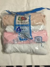 Fruit of the Loom Girl's Neutral Camisoles. Size: Small 4pk - $8.91