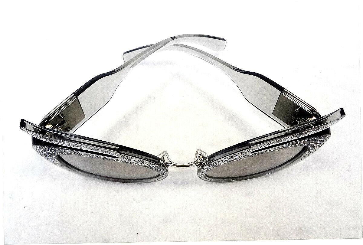 MIU MIU Women's Sunglasses MU04TS 54Z139 Transparent 53-23-140 MADE IN ITALY-New