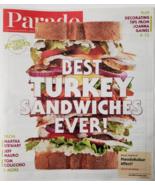 Parade Magazine:Best turkey Sandwich, Michael Douglas, Joanna Gaines Nov... - $2.95