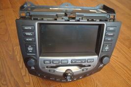 2006 HONDA ACCORD OEM GPS Navigation 6disc CD Radio Player Climate Control - $259.99