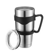 Outdoor Sports Stainless Steel Vacuum Insulate Cup(SILVER) - $21.76