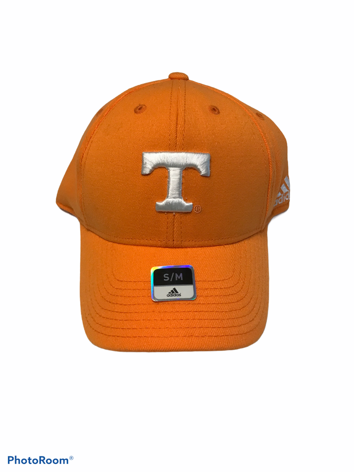 Tennessee Volunteers Vols Cap Hat Adidas Fit Max 70 Fitted Stretch Size S/M NWD - $14.98