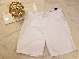 Tommy Hilfiger Mens Shorts Chinos Flat Front White Casual Basic Size 36 ... - $14.75