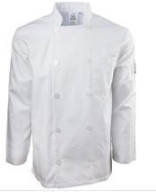 CHEF REVIVAL LJ027-S Chef Jacket, Knife/Steel, Ladies, White, S - $30.84
