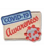 Cub Girl Boy COVID-19 AWARENESS Embroidered Iron-On Fun Patch Crests Bad... - $5.89