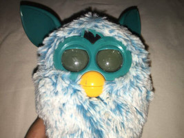 2012 Talking Singing Interactive Blue Turquoise FURBY Doll Toy WORKING I... - $25.74