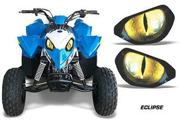 AMR Racing Head Light Eyes Polaris Outlaw 90 ATV Headlight Decals Part E... - $18.95