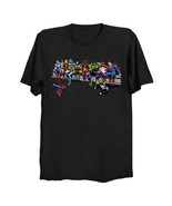 Marvel and DC Superheroes Lunch Atop A Skyscraper (no b/g) Unisex T-Shir... - $29.99