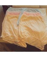 Six Dixie Belle Lingerie plus size Cotton Briefs Size 12 Beige Pink and ... - €14,88 EUR