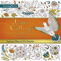 Jesus Calling Adult Coloring Book: Creative Coloring and Hand Lettering [Paperba image 2