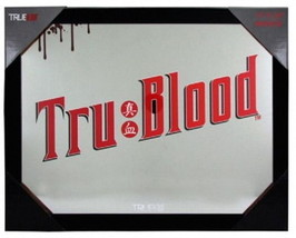True Blood TV Series Name Logo Framed Wall Mirror Art, NEW UNUSED - $13.54