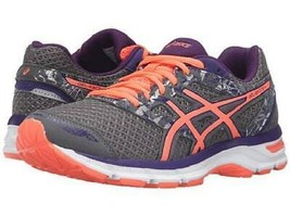 Asics Gel-Excite 4 Gray+Purple Women's Running Shoes Athletic Casual T6E8N  - $35.79