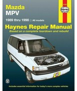 Haynes Mazda MPV (89 - 94) Repair Manual (61020) - $17.59