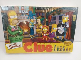 The Simpsons CLUE Board Game 2nd Edition - Parker Brothers New in Sealed... - $39.99