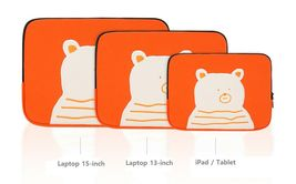 AllNewFrame Indifferent Bear iPad Laptop Protective Sleeve Pouch Bag Cover Case  image 4