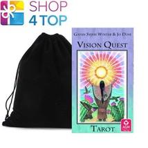 VISION QUEST TAROT CARDS DECK BY GAYAN SYLVIE WINTER ESOTERIC AGM VELVET... - $25.24