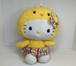 "Hello Kitty 2017 Sanrio/Just Play Chick 12"" Plush Easter Holiday Costume... - $23.06"