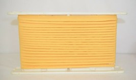 Conso 026836D54 Marigold Yellow Polyester Indoor Outdoor Lip Cord Trim 12 yards image 1