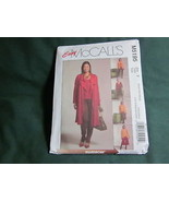 MCCALLS M5195 MISSES TOTAL OUTFIT LONG BLAZER SEWING PATTERN SZ XSM TO ME - $5.50