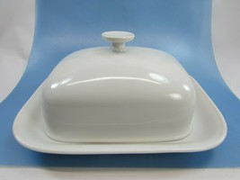 Vintage Grazie White Heinrich H & C Selb Covered Butter Dish 33625 - $128.69