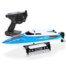 SereneLife Wireless 2.4 ghz Remote Control RC Speed Boat Toy with 74W21,... - $67.27