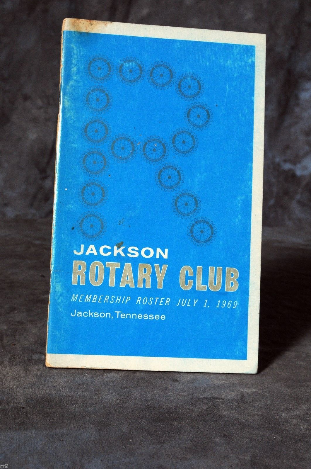 Primary image for 1969 Jackson Tennessee Rotary Club Photo Membership Roster Directory