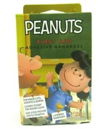 Peanuts First Aid Adhesive Bandages 20 Count Assorted Sizes (Gentle Remo... - $5.91